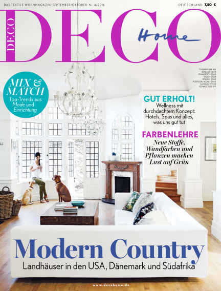 DECO HOME August 18, 2016 00:00