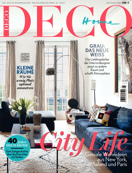 DECO HOME January 05, 2017 00:00