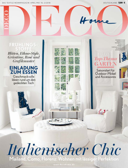 DECO HOME March 15, 2018 00:00