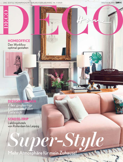 DECO HOME January 03, 2020 00:00