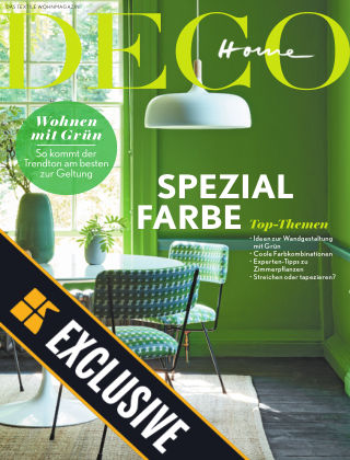 DECO HOME Readly Exclusive SPEZIAL FARBE Grün