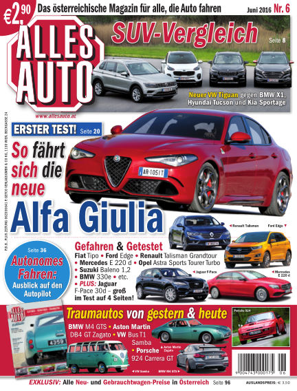 ALLES AUTO May 25, 2016 00:00