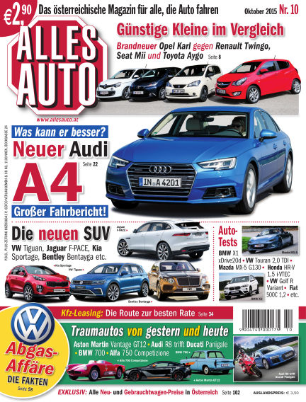 ALLES AUTO September 30, 2015 00:00