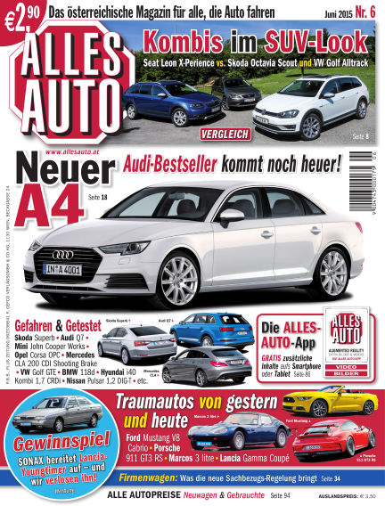 ALLES AUTO May 28, 2015 00:00