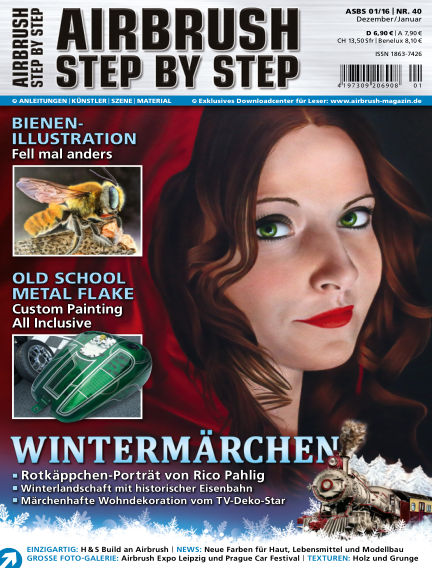 Airbrush Step by Step December 28, 2015 00:00