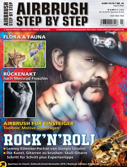 Airbrush Step by Step March 31, 2016 00:00
