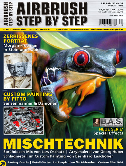 Airbrush Step by Step January 29, 2015 00:00