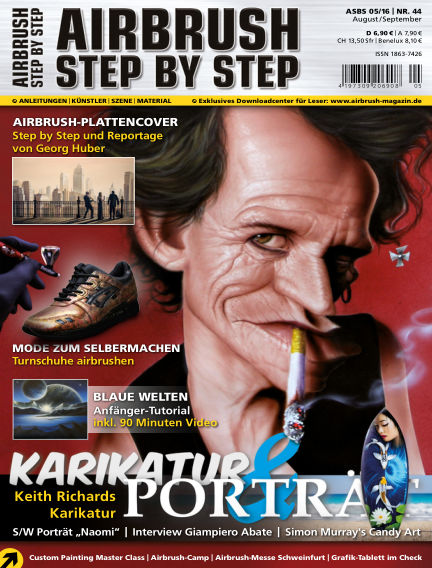 Airbrush Step by Step July 28, 2016 00:00