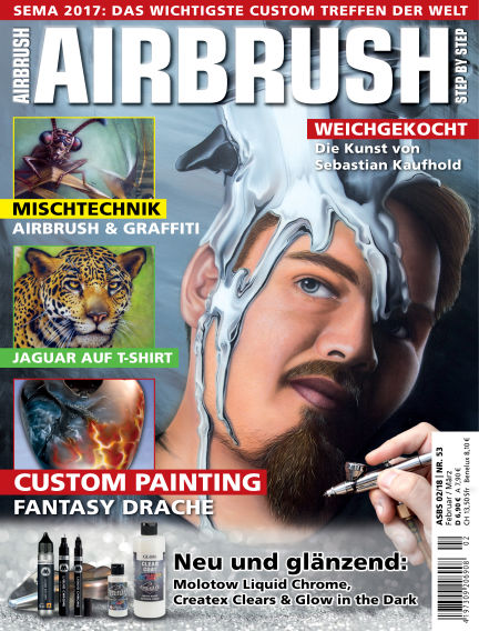 Airbrush Step by Step January 25, 2018 00:00