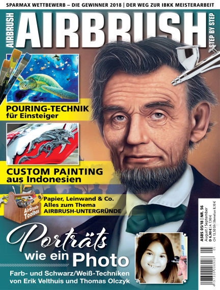 Airbrush Step by Step July 26, 2018 00:00