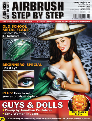 Airbrush Step by Step (english) 02/2016