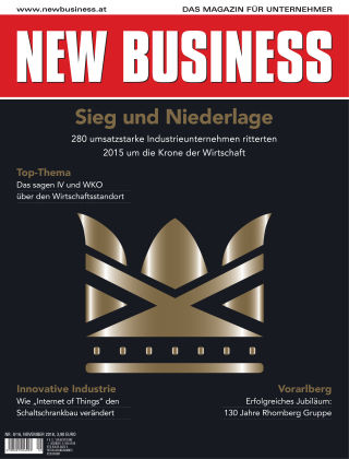 NEW BUSINESS 09/2016