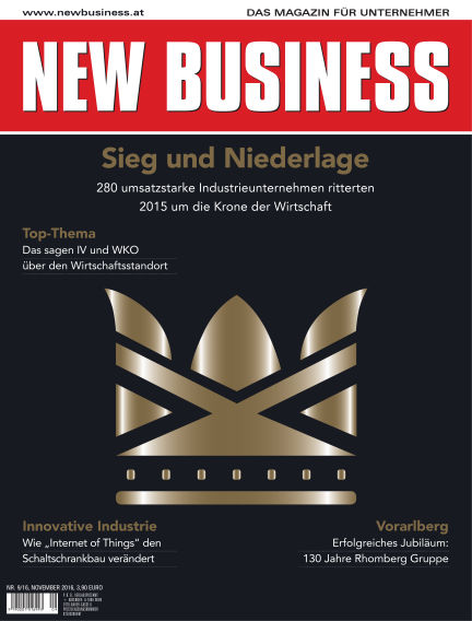 NEW BUSINESS October 30, 2016 00:00