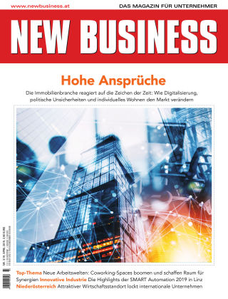 NEW BUSINESS 03/2019