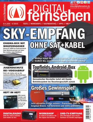 DIGITAL FERNSEHEN 04/2015