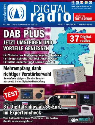 DIGITAL FERNSEHEN DIGITAL RADIO 1/2019