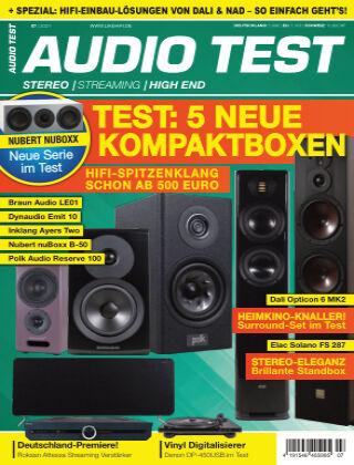 AUDIO TEST 07/2021