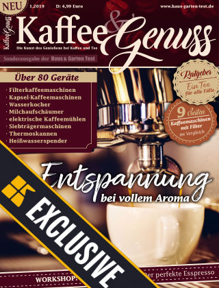 Kaffee & Genuss - Readly Exclusive 01/2019