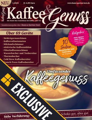 Kaffee & Genuss - Readly Exclusive 01/2020