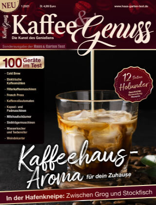 Kaffee & Genuss - Readly Exclusive 01/2021