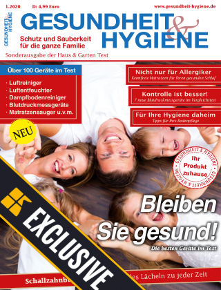 GESUNDHEIT & HYGIENE - Readly Exclusive 01/2020