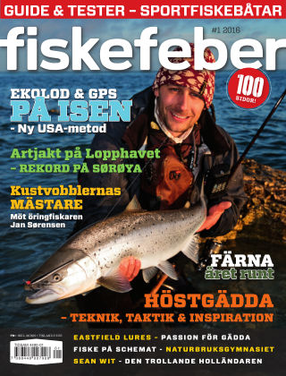 Fiskefeber (Inga nya utgåvor) 2015-12-15
