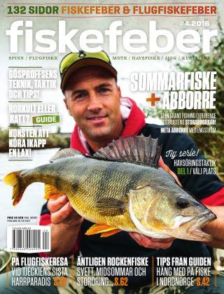 Fiskefeber (Inga nya utgåvor) 2016-05-24