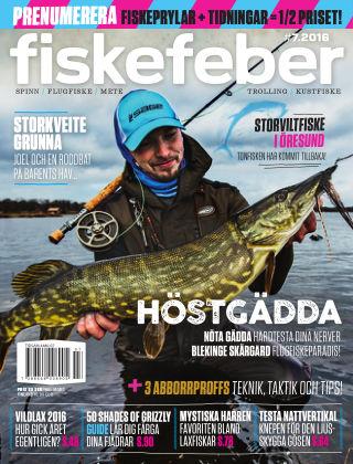 Fiskefeber (Inga nya utgåvor) 2016-10-25