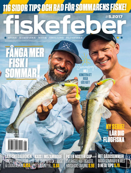 Fiskefeber (Inga nya utgåvor) July 04, 2017 00:00