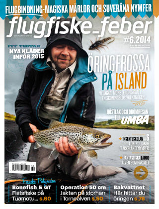 Flugfiske-feber (Inga nya utgåvor) 2014-11-28