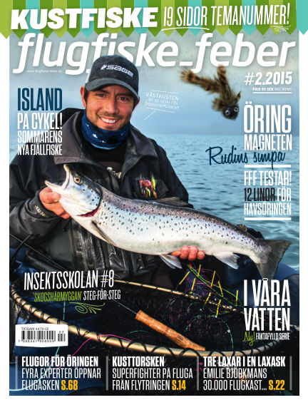 Flugfiske-feber (Inga nya utgåvor) March 30, 2015 00:00