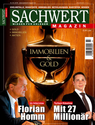 Sachwert Magazin 03/2016