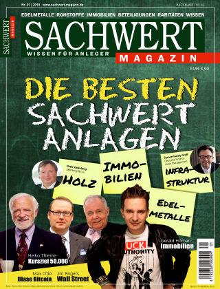 Sachwert Magazin 01/2018