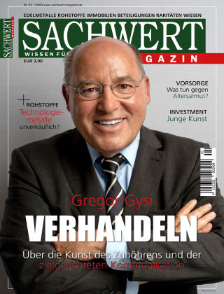 Sachwert Magazin 01-2019