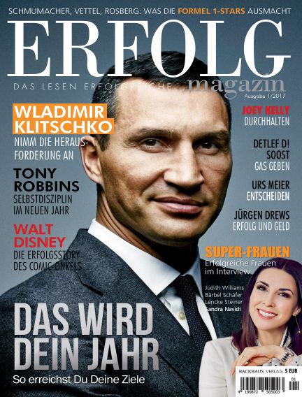 Erfolg Magazin, Ausgabe 2-2017