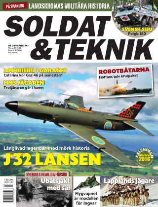 Soldat & Teknik (Inga nya utgåvor) 2016-05-10