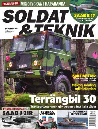 Soldat & Teknik (Inga nya utgåvor) 2016-01-12