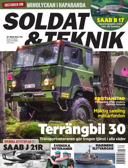 Soldat & Teknik (Inga nya utgåvor) January 12, 2016 00:00