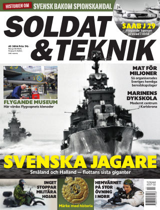 Soldat & Teknik (Inga nya utgåvor) 2016-03-08