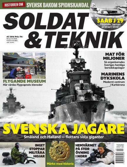 Soldat & Teknik (Inga nya utgåvor) March 08, 2016 00:00