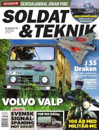Soldat & Teknik (Inga nya utgåvor) 2016-07-12