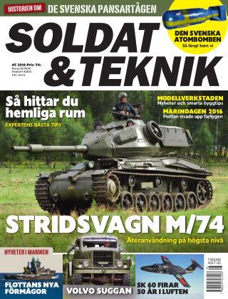 Soldat & Teknik (Inga nya utgåvor) 2016-09-13