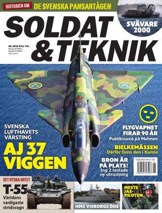 Soldat & Teknik (Inga nya utgåvor) 2016-11-08