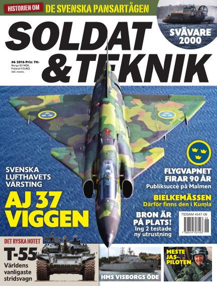 Soldat & Teknik (Inga nya utgåvor) November 08, 2016 00:00