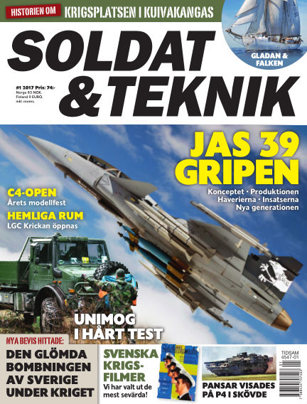 Soldat & Teknik (Inga nya utgåvor) January 10, 2017 00:00