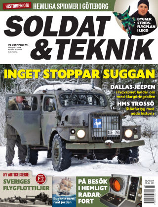Soldat & Teknik (Inga nya utgåvor) 2017-03-07