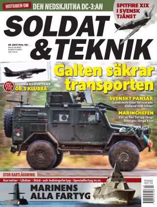 Soldat & Teknik (Inga nya utgåvor) 2017-05-09