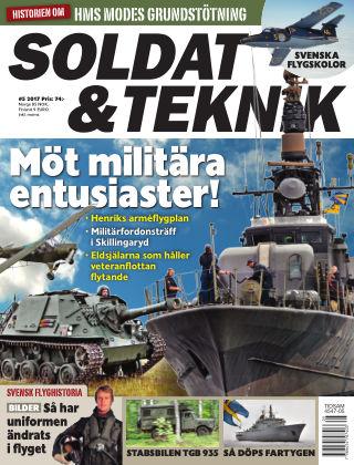 Soldat & Teknik (Inga nya utgåvor) 2017-09-12