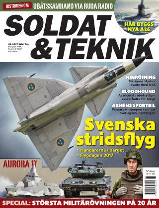 Soldat & Teknik (Inga nya utgåvor) 2017-11-07