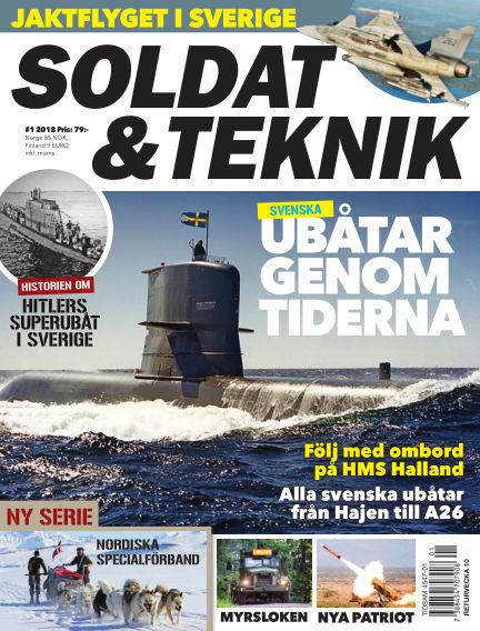Soldat & Teknik (Inga nya utgåvor) January 09, 2018 00:00